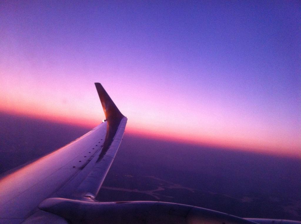 Couché de soleil vers Israel