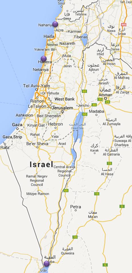 Faire de la plongée en israel