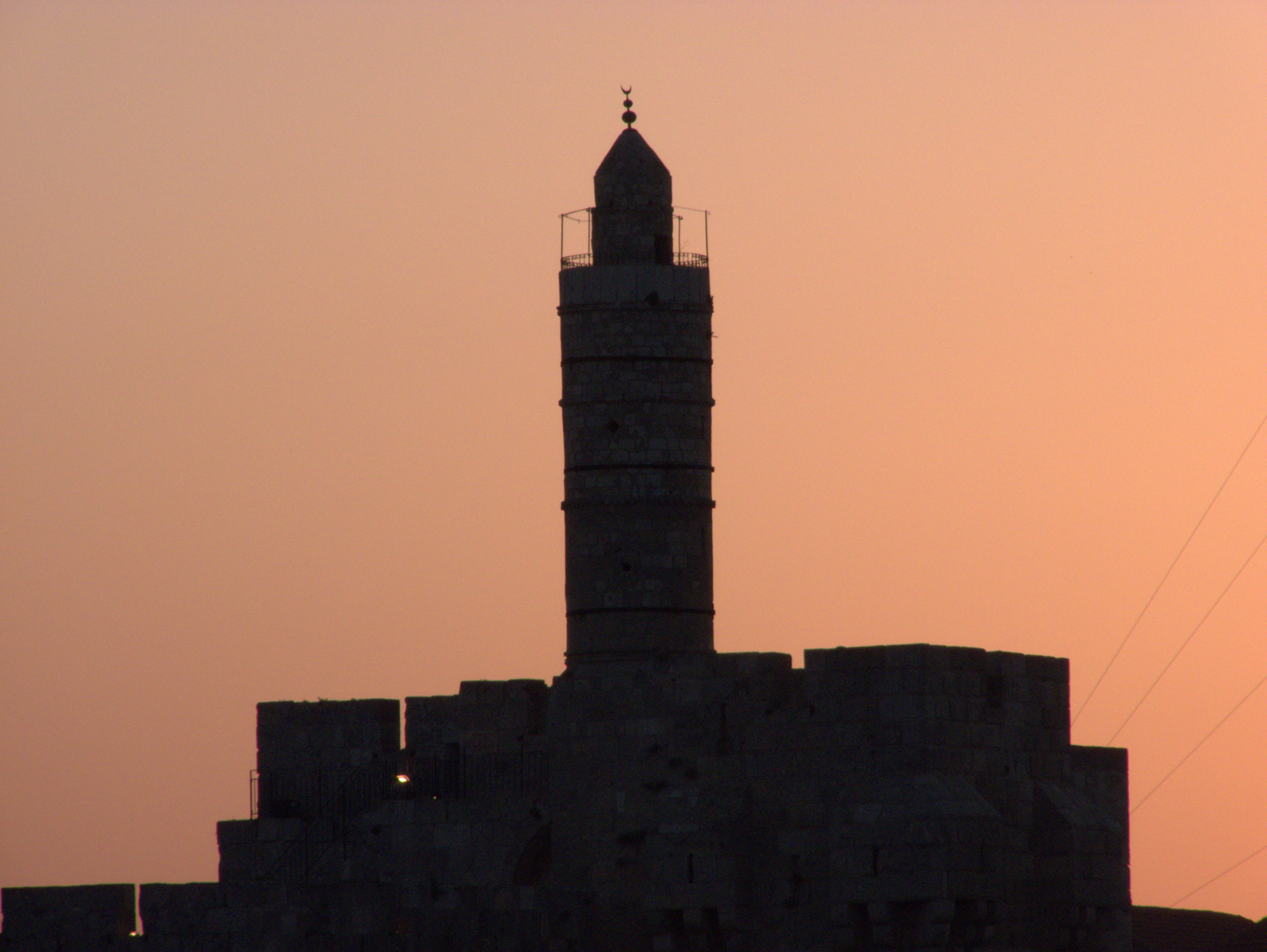 La tour de David - Jerusalem