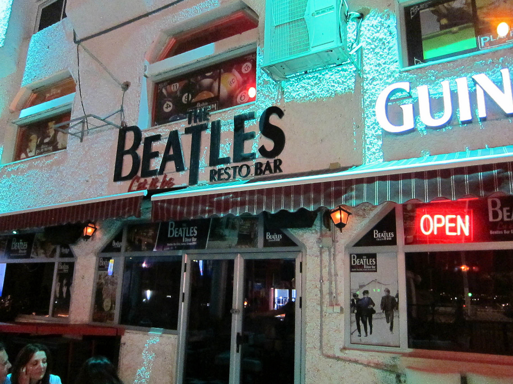 Beatles Bar à Eilat
